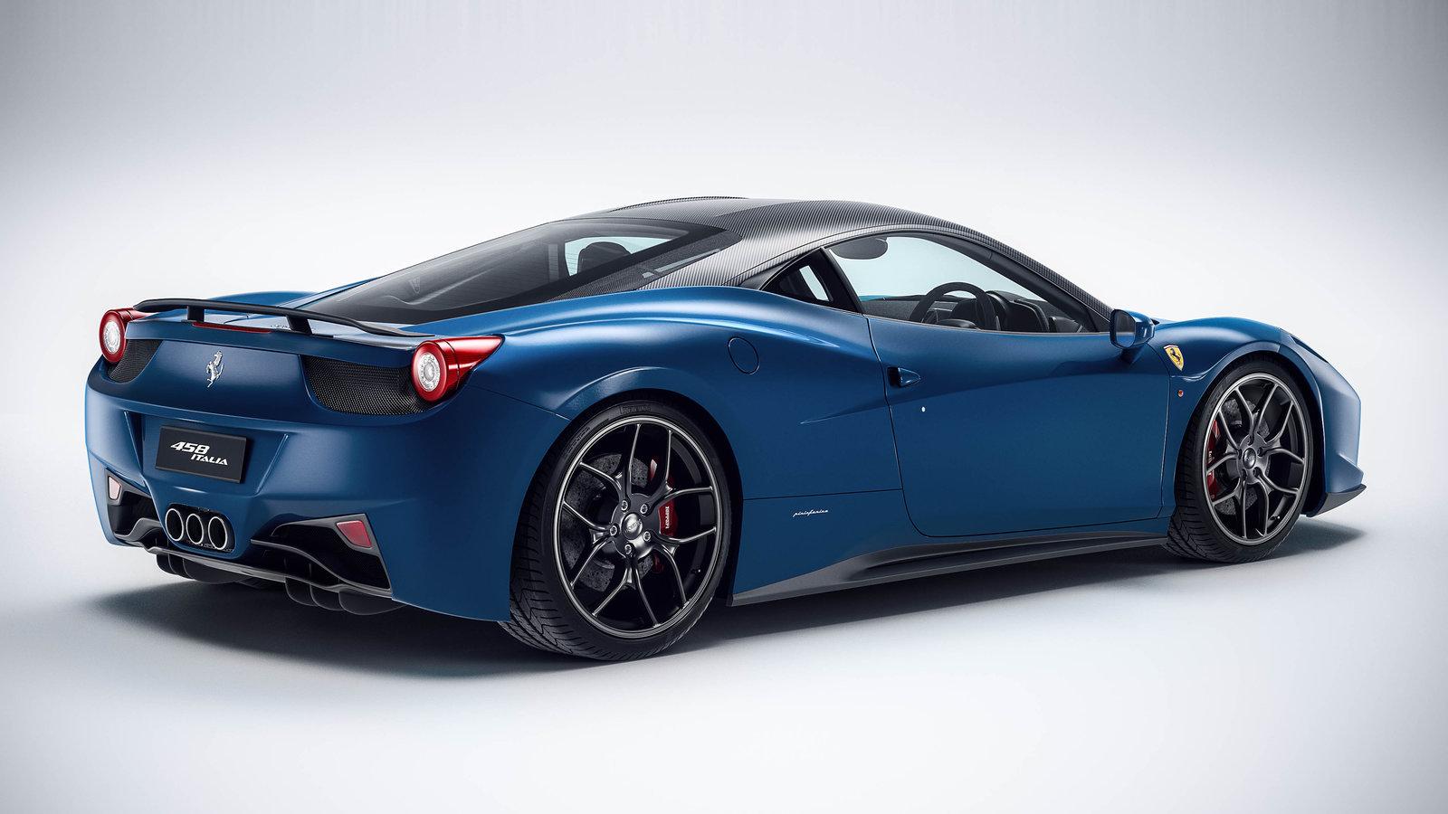 2015 Ferrari 458 Speciale >> Blue Ferrari Wallpaper Italia | Collection 15+ Wallpapers