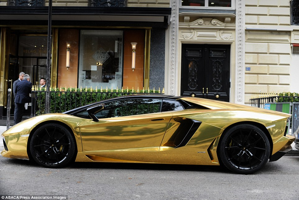 Black Luxury Vehicles: Black And Gold Exotic Cars 36 Background