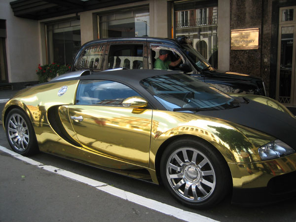 Gold Car Wallpapers: Black And Gold Exotic Cars 7 Widescreen Wallpaper
