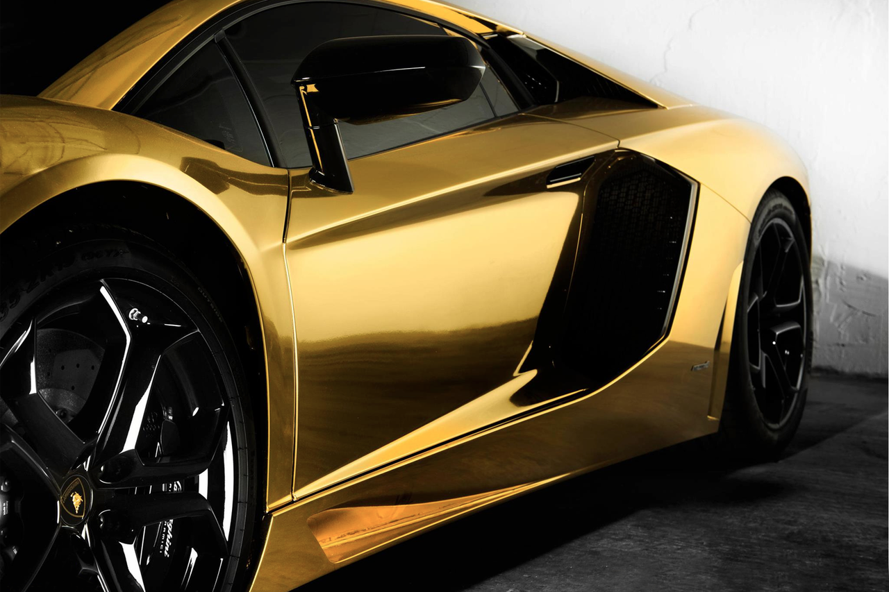 Black Luxury Vehicles: Black And Gold Exotic Cars 10 Hd Wallpaper