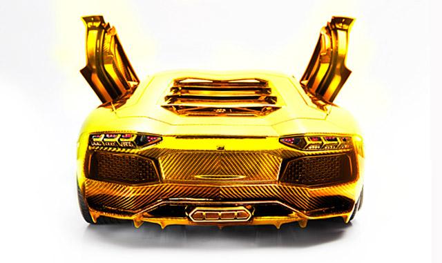Black And Gold Lamborghini 30 Desktop Wallpaper