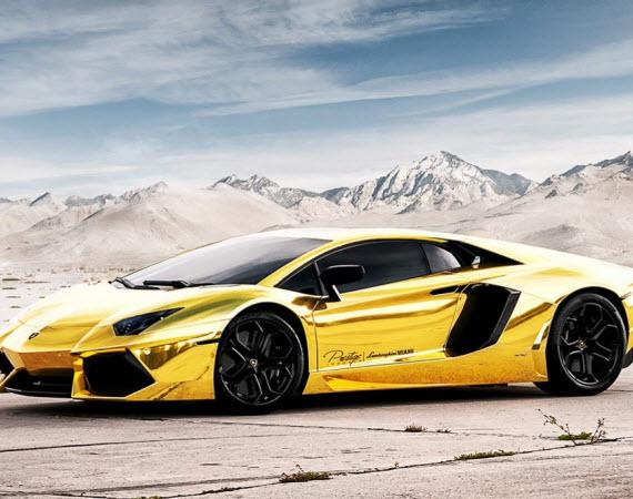 Black And Gold Lamborghini 36 High Resolution Wallpaper