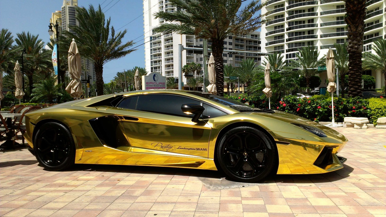 Black And Gold Lamborghini 10 Free Hd Wallpaper