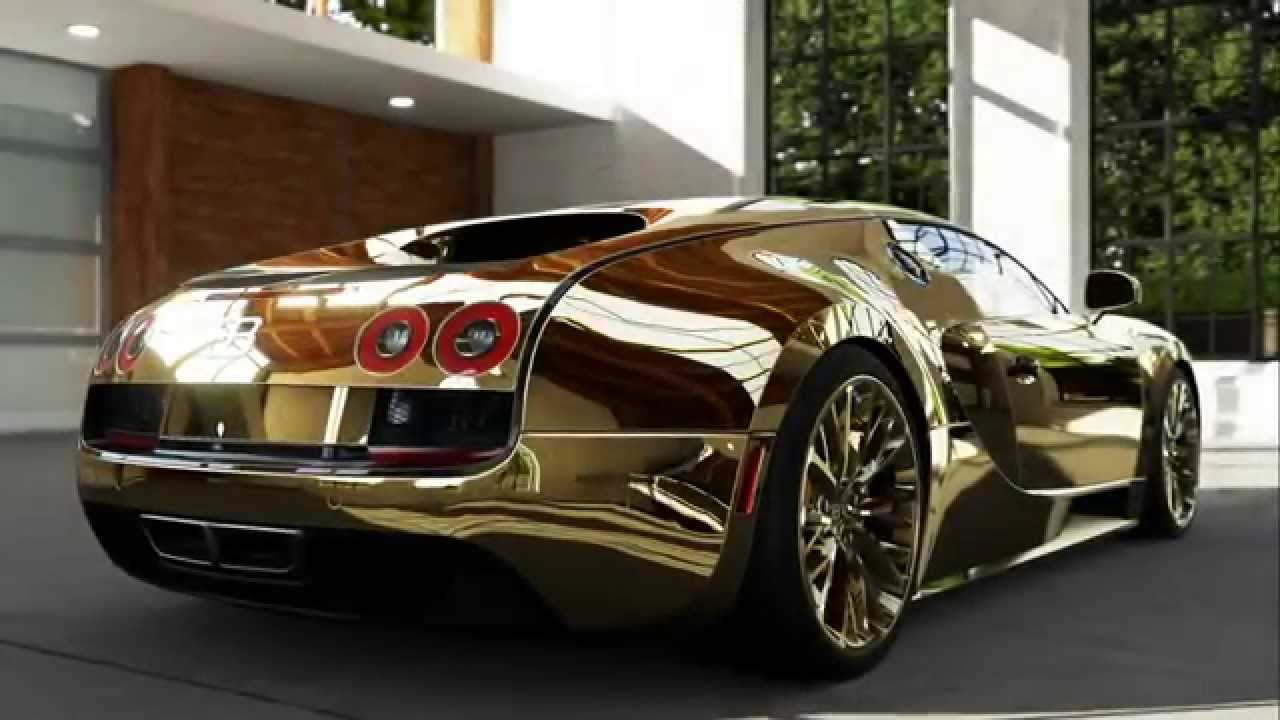 Black And Gold Sports Cars 9 Widescreen Wallpaper
