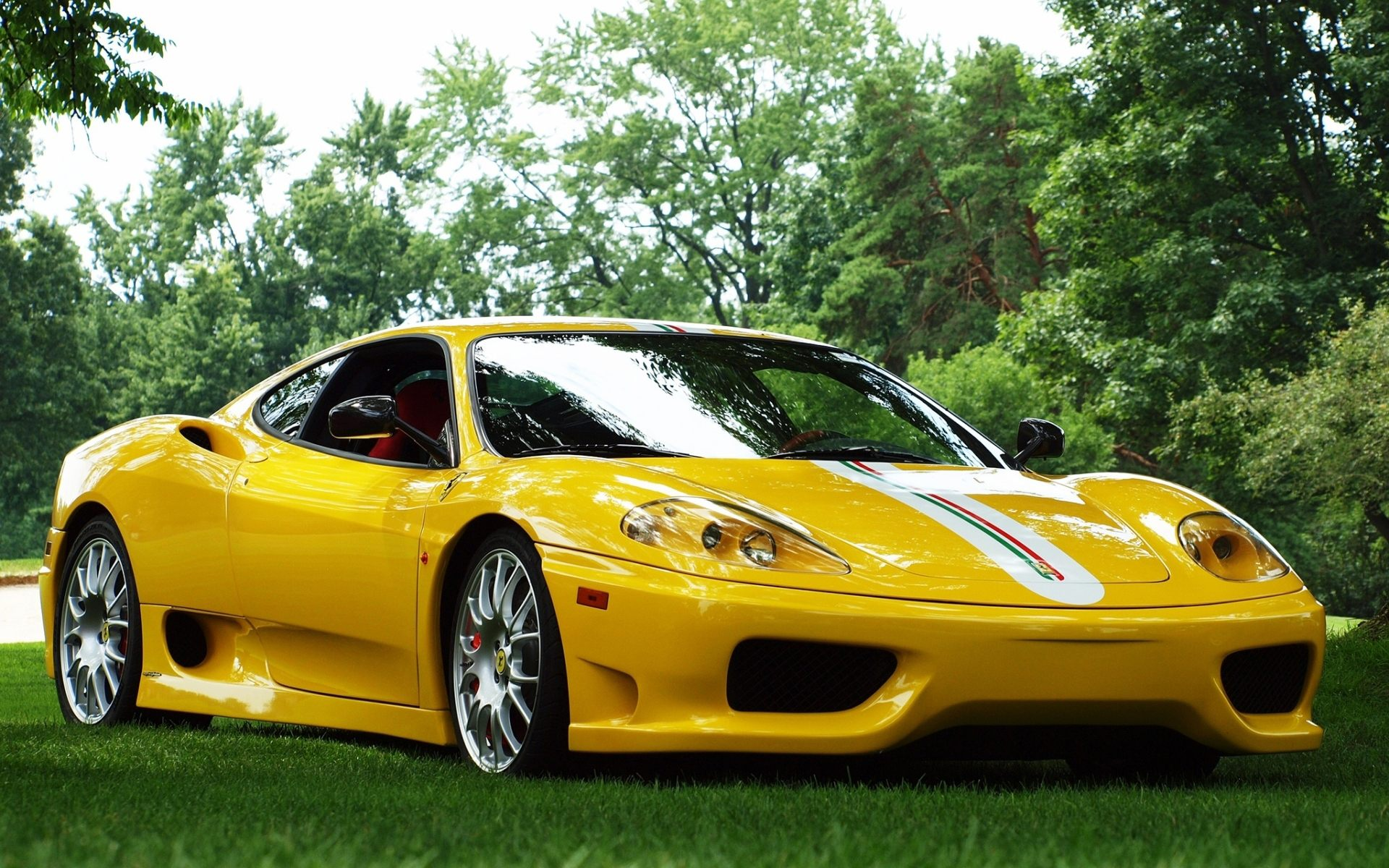 wallpaper green ferrari cars - photo #16