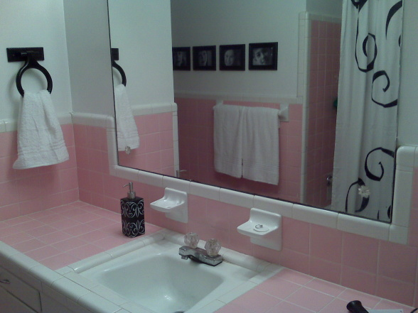 Black and pink bathroom ideas 10 background Pink bathroom ideas pictures