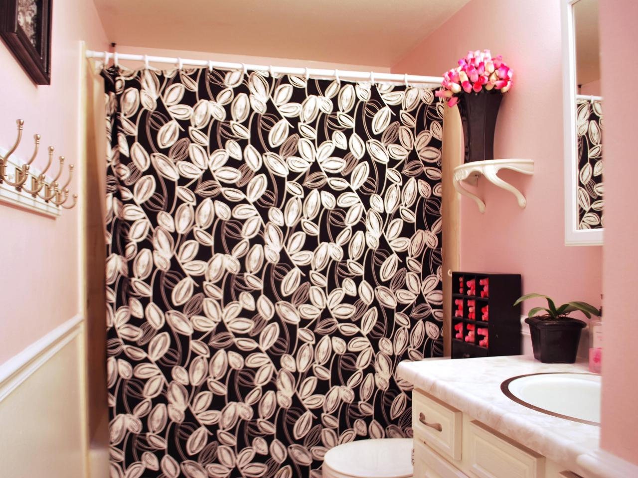 Black white and pink bathroom - Black And Pink Bathroom Ideas 36 Desktop Background