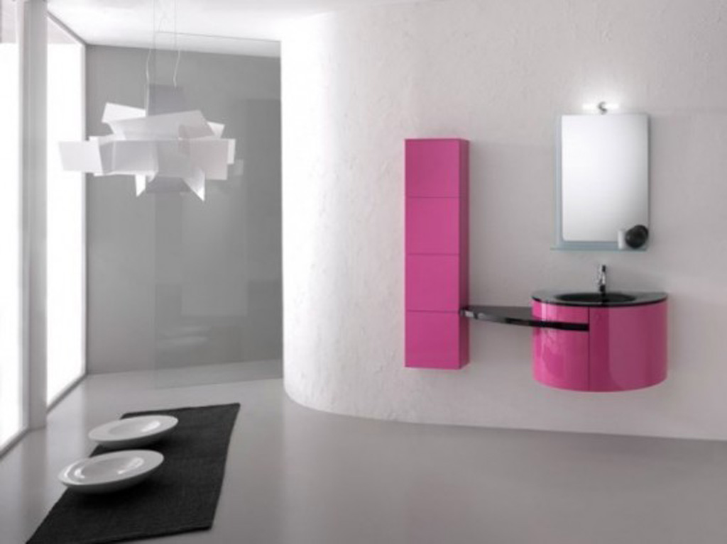 Black And Pink Bathroom Ideas  9 Background Wallpaper