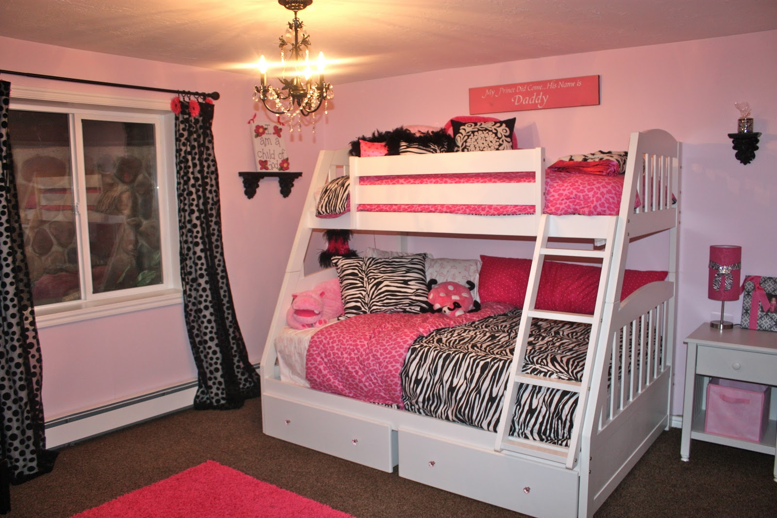 Black And Pink Bedroom Ideas 13 Hd Wallpaper