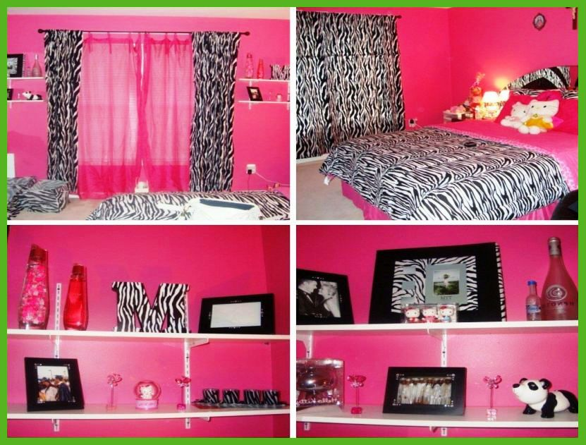 Black and pink bedroom ideas 13 hd wallpaper for Bedroom designs pink and black