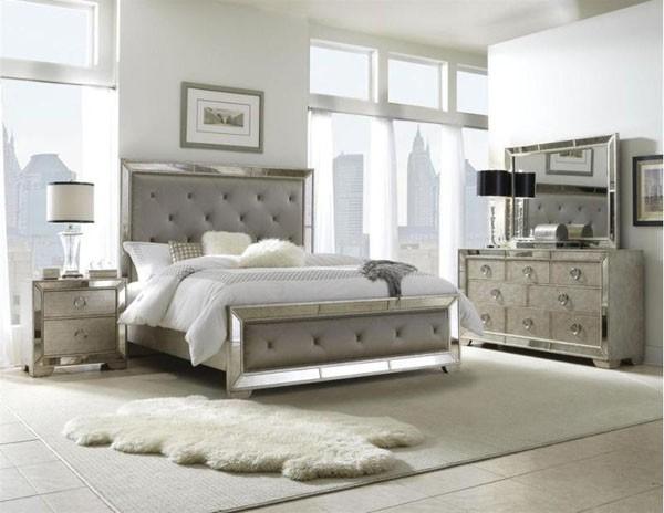 Black And Silver Bedroom Set 17 Desktop Wallpaper