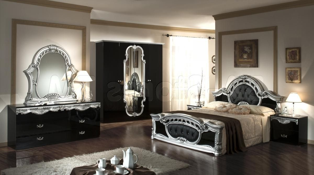 black and silver bedroom set 10 background wallpaper