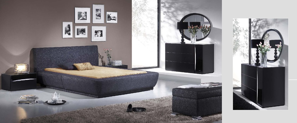 Black and silver bedroom set 10 background wallpaper - Bedroom farnitures hd ...