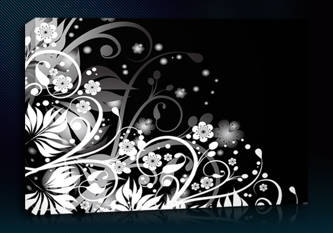 Black and white abstract art 20 cool hd wallpaper for White and black paintings