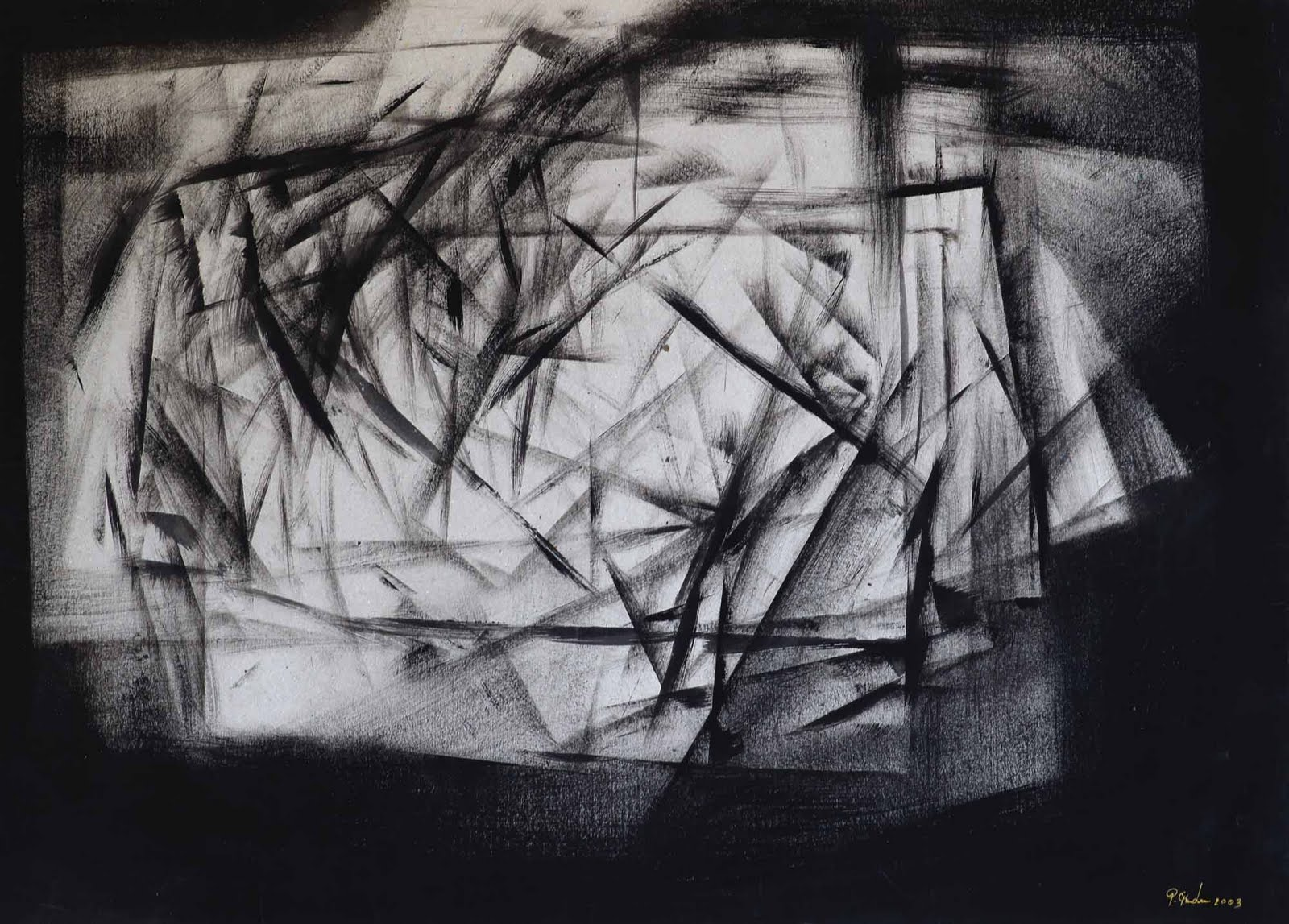 black and white abstract art 26 free hd wallpaper. Black Bedroom Furniture Sets. Home Design Ideas