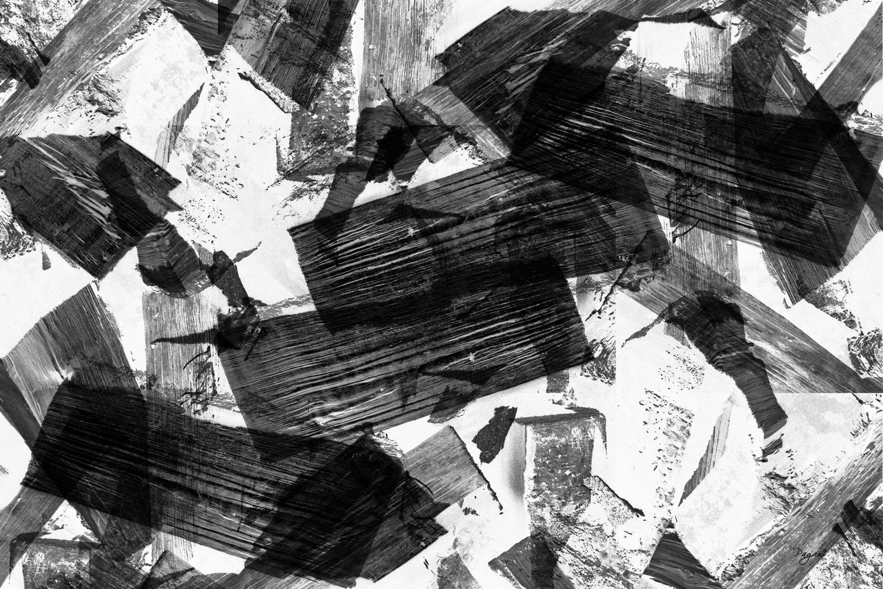 Black And White Abstract Art 6 Desktop Background ...