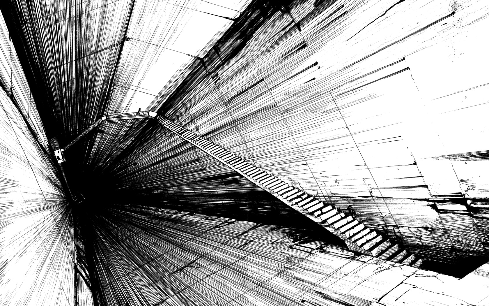 Black And White Abstract Art 18 Cool Wallpaper ...