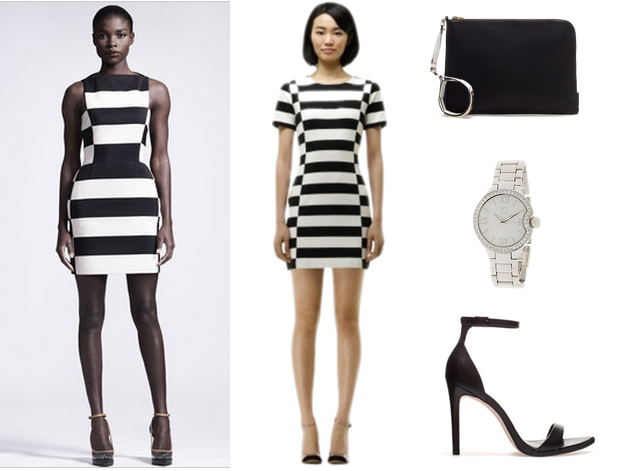 Black And White Dress  14 Desktop Background