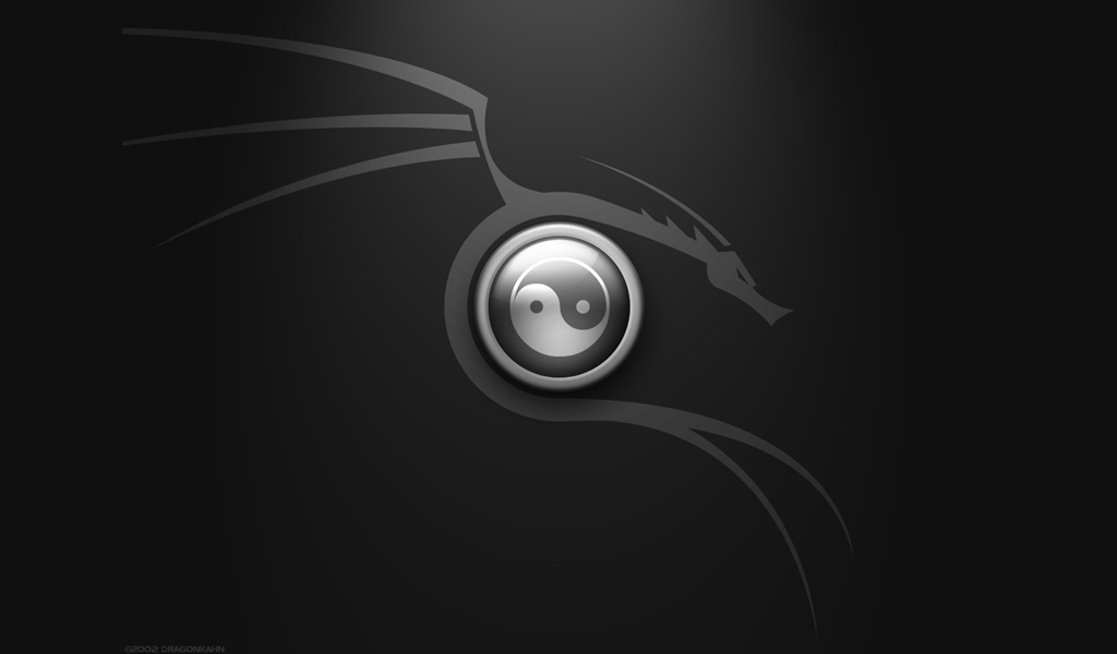 Black And White Yin And Yang  18 Desktop Background