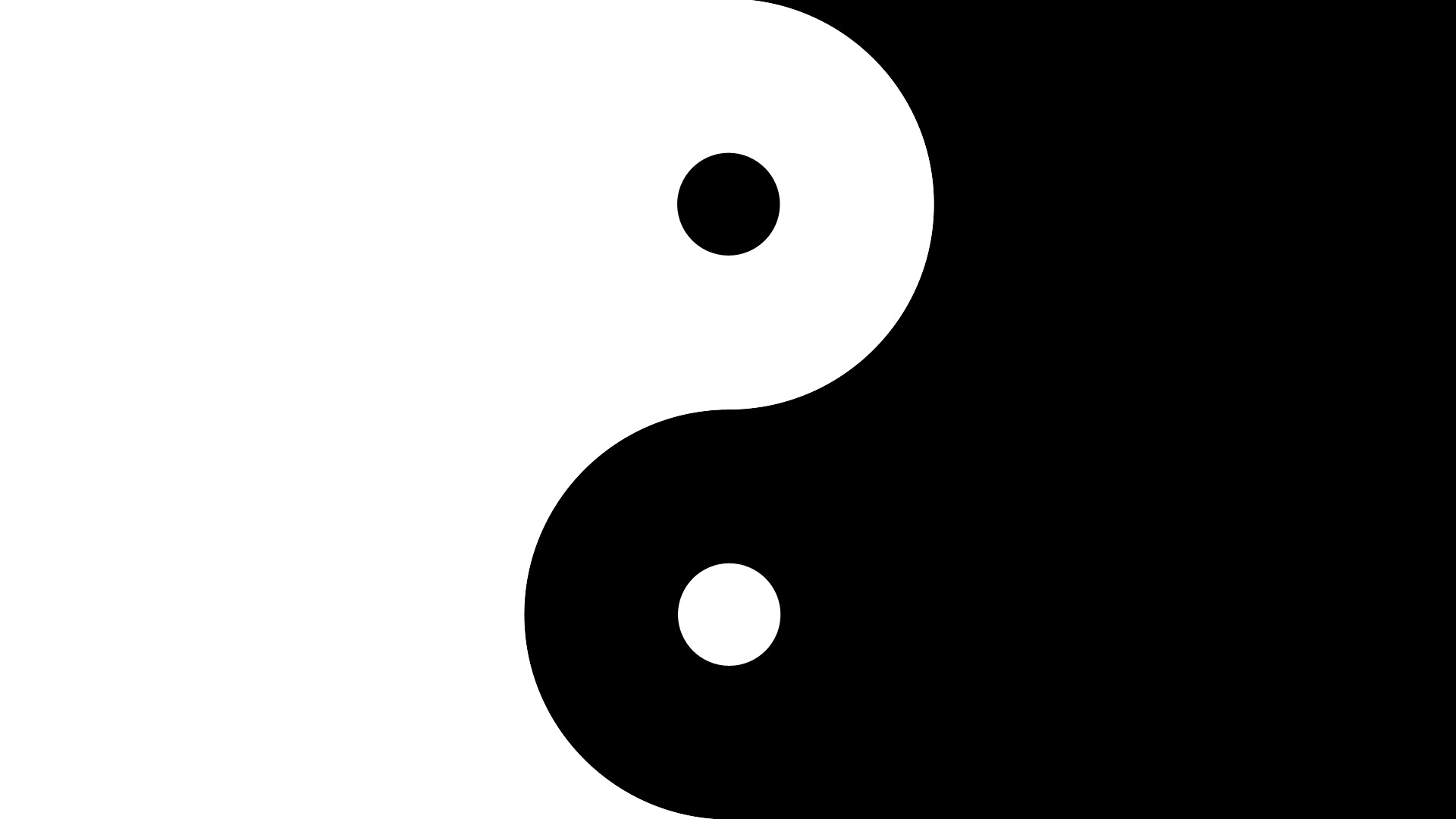 black and white yin and yang 29 hd wallpaper