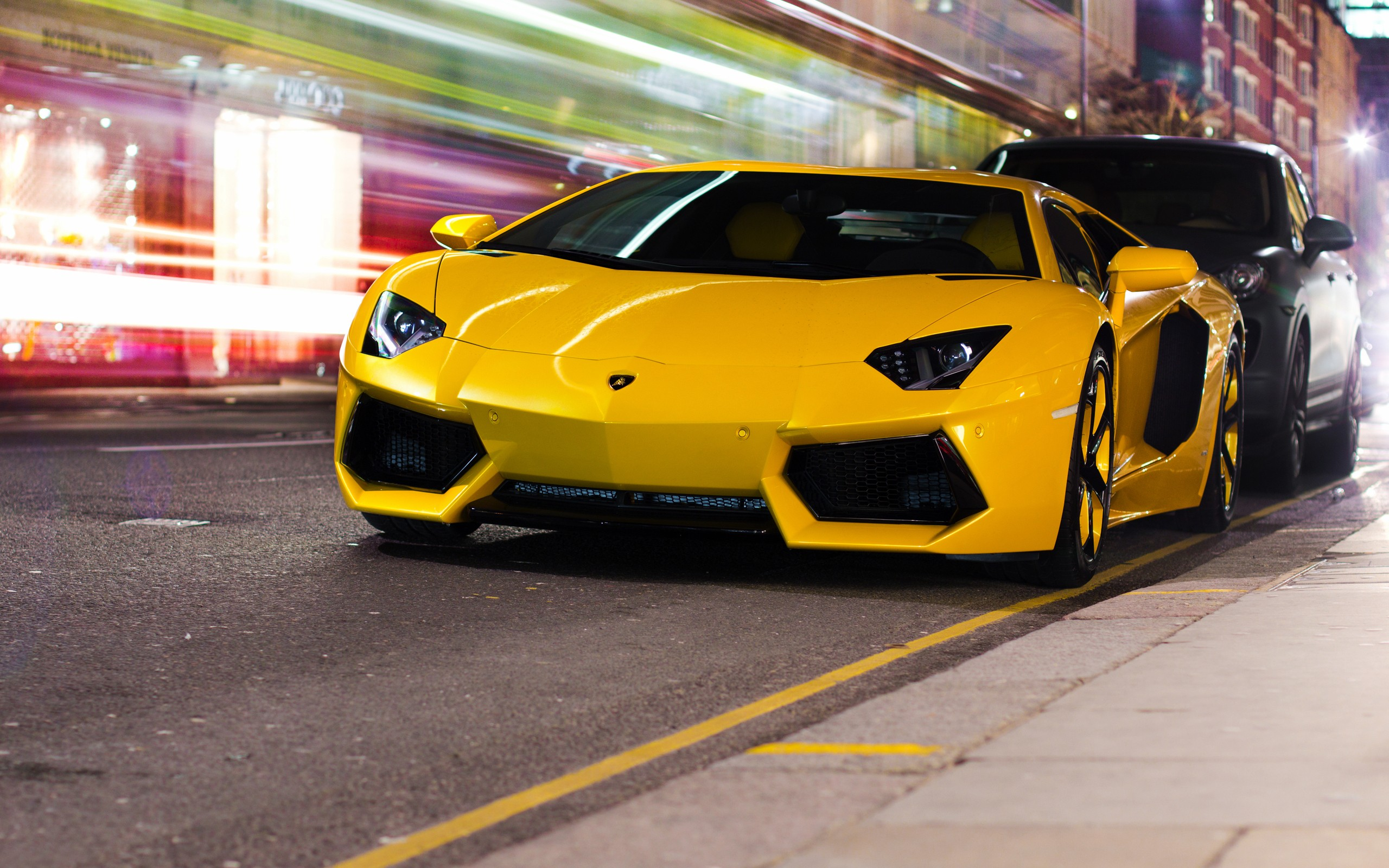 Black And Yellow Cool Cars Desktop Wallpaper Hdblackwallpapercom - Cool yellow cars
