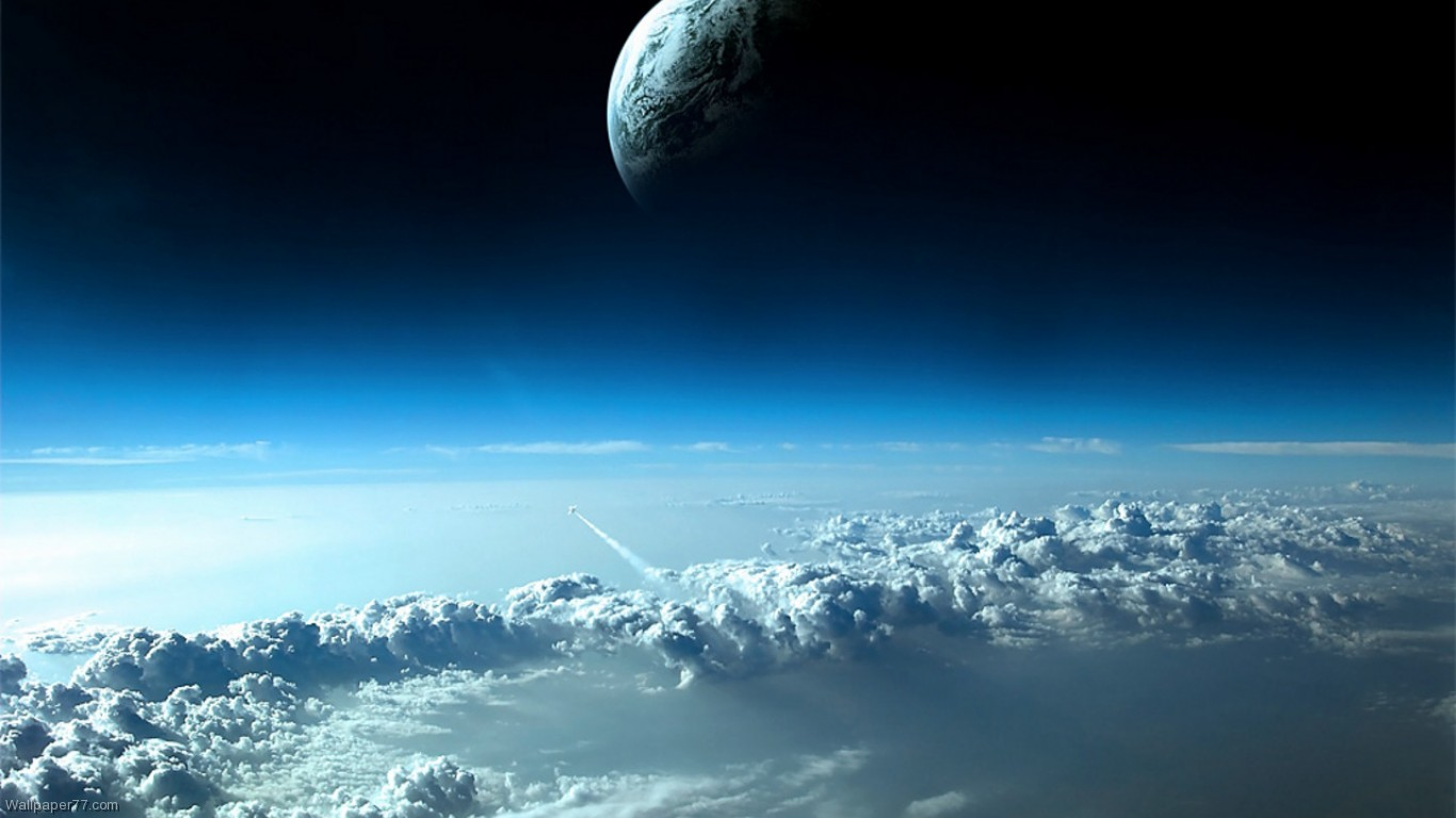 Planet Earth seen from space Full HD 1080p ORIGINAL