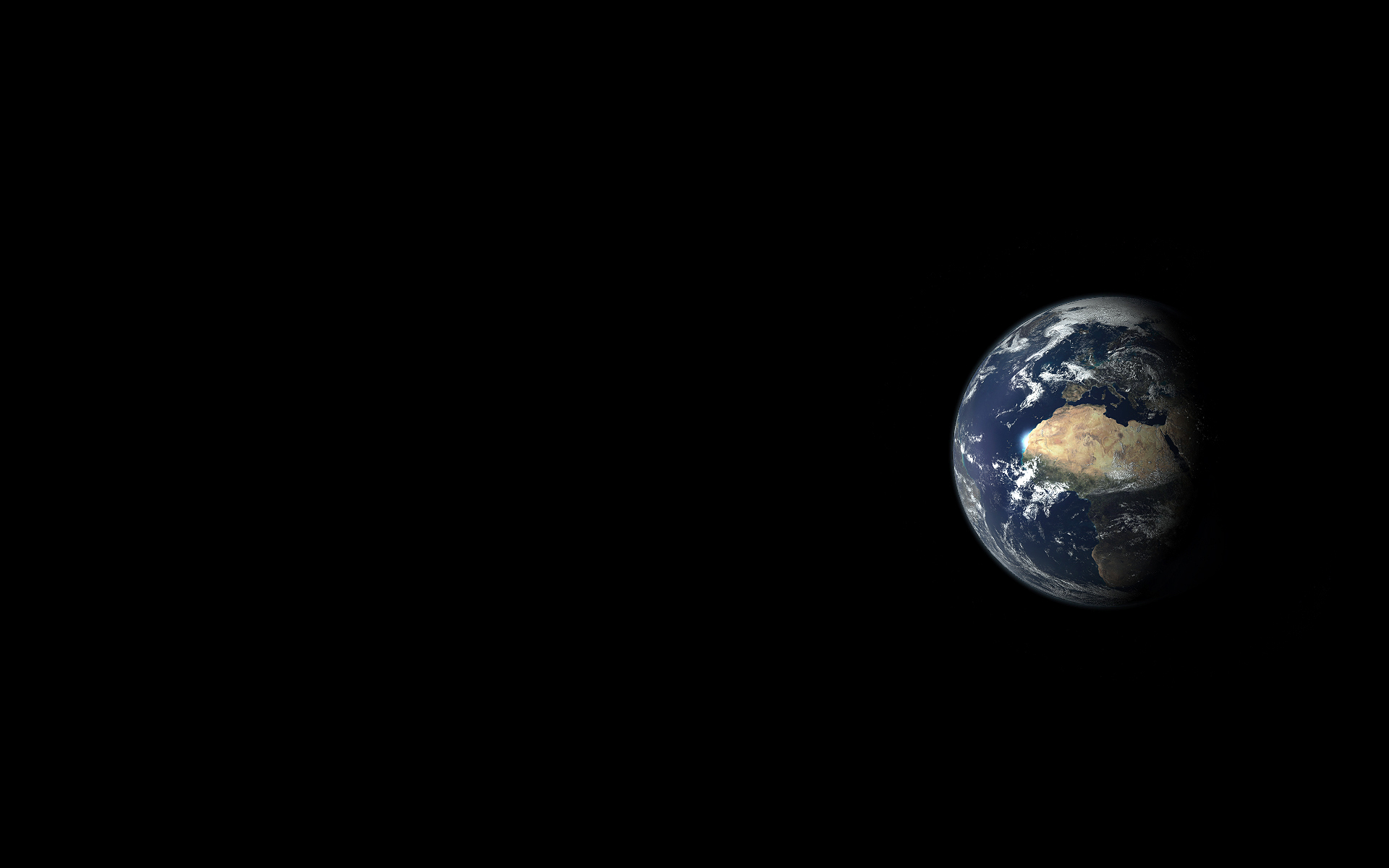 Desembaralhe Black Earth Wallpaper
