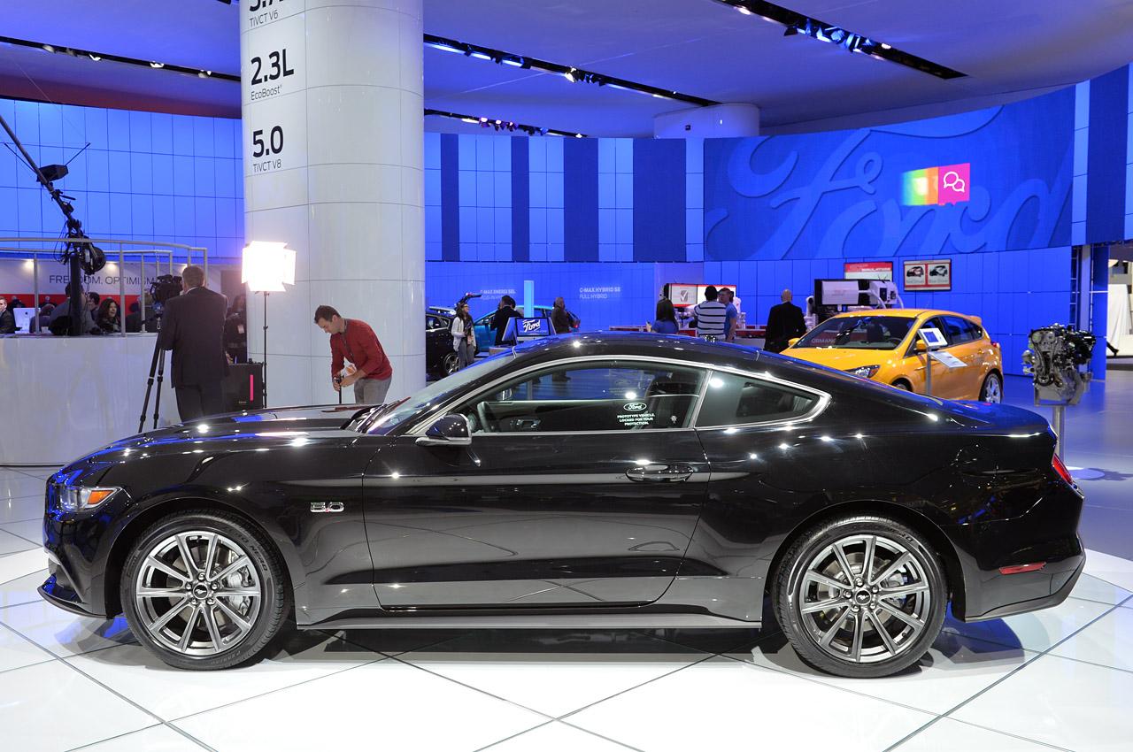 Black Ford Mustang 13 Cool Wallpaper