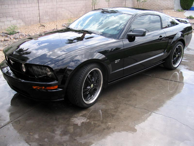 Black Ford Mustang  23 Free Wallpaper