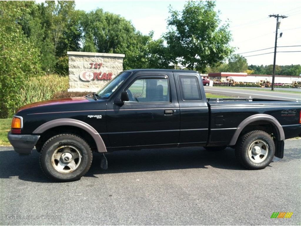 black ford ranger 4x4 10 hd wallpaper