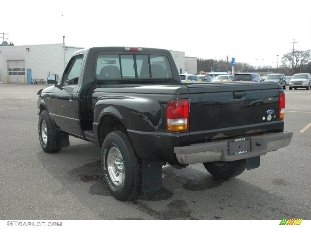 Black ford ranger 4x4 16 background