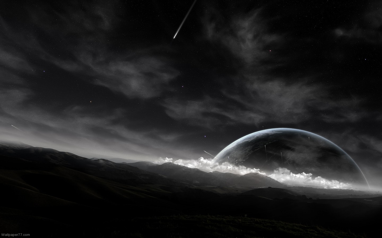 Black Planets Wallpaper 25 Widescreen Wallpaper