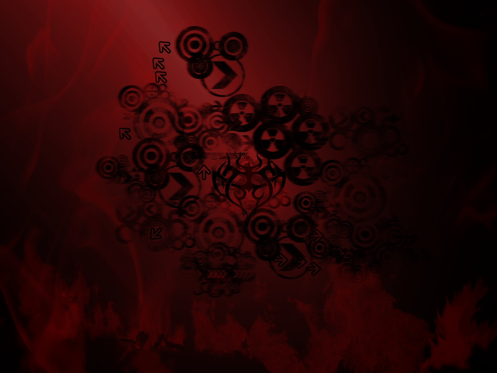 Cool red and black themes 6 cool hd wallpaper for Red wallpaper ideas