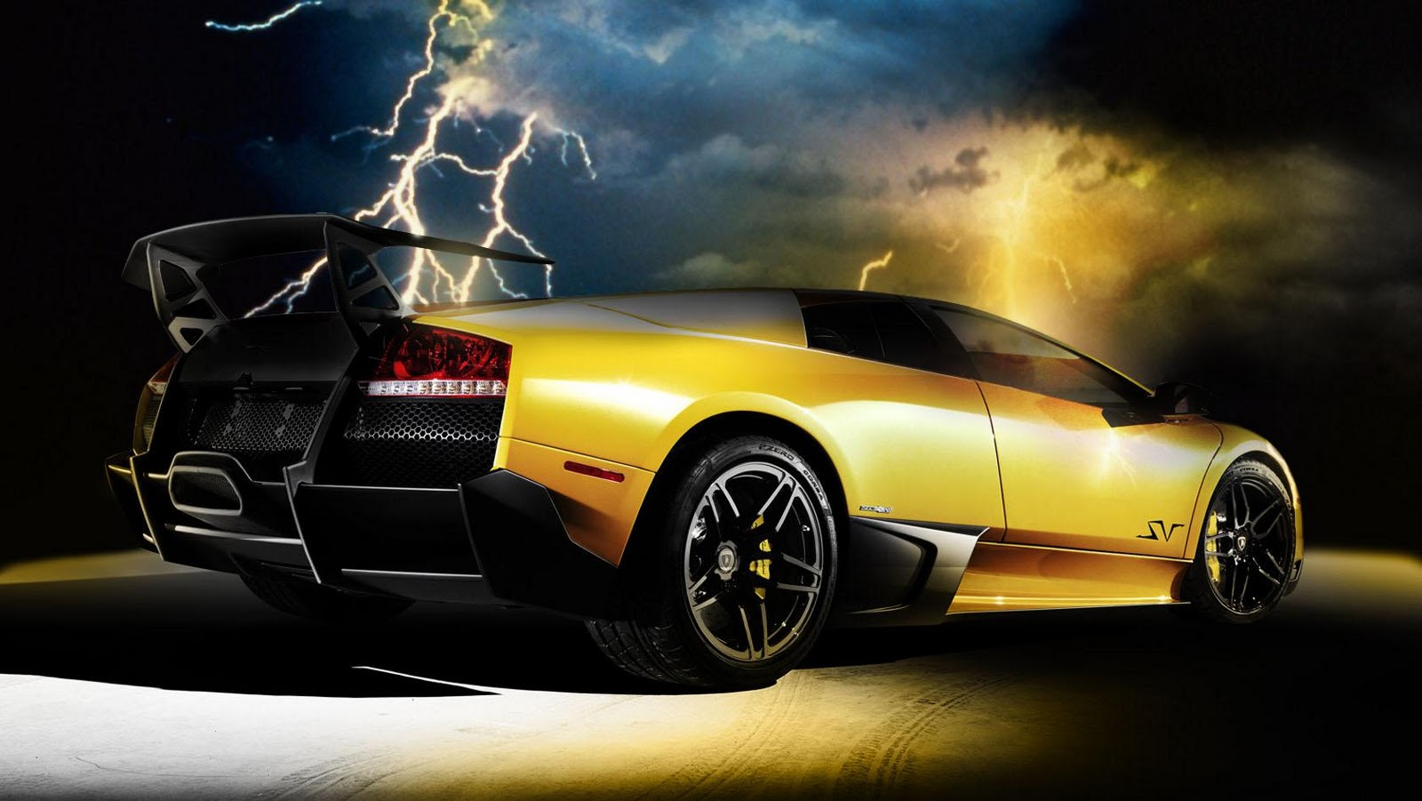 Gold And Black Lamborghini Wallpaper 1 Hd Wallpaper