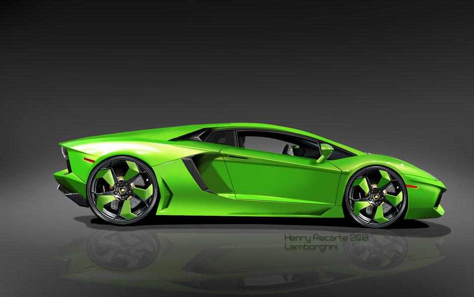 Green And Black Lamborghini Wallpaper 3 Hd Wallpaper ...