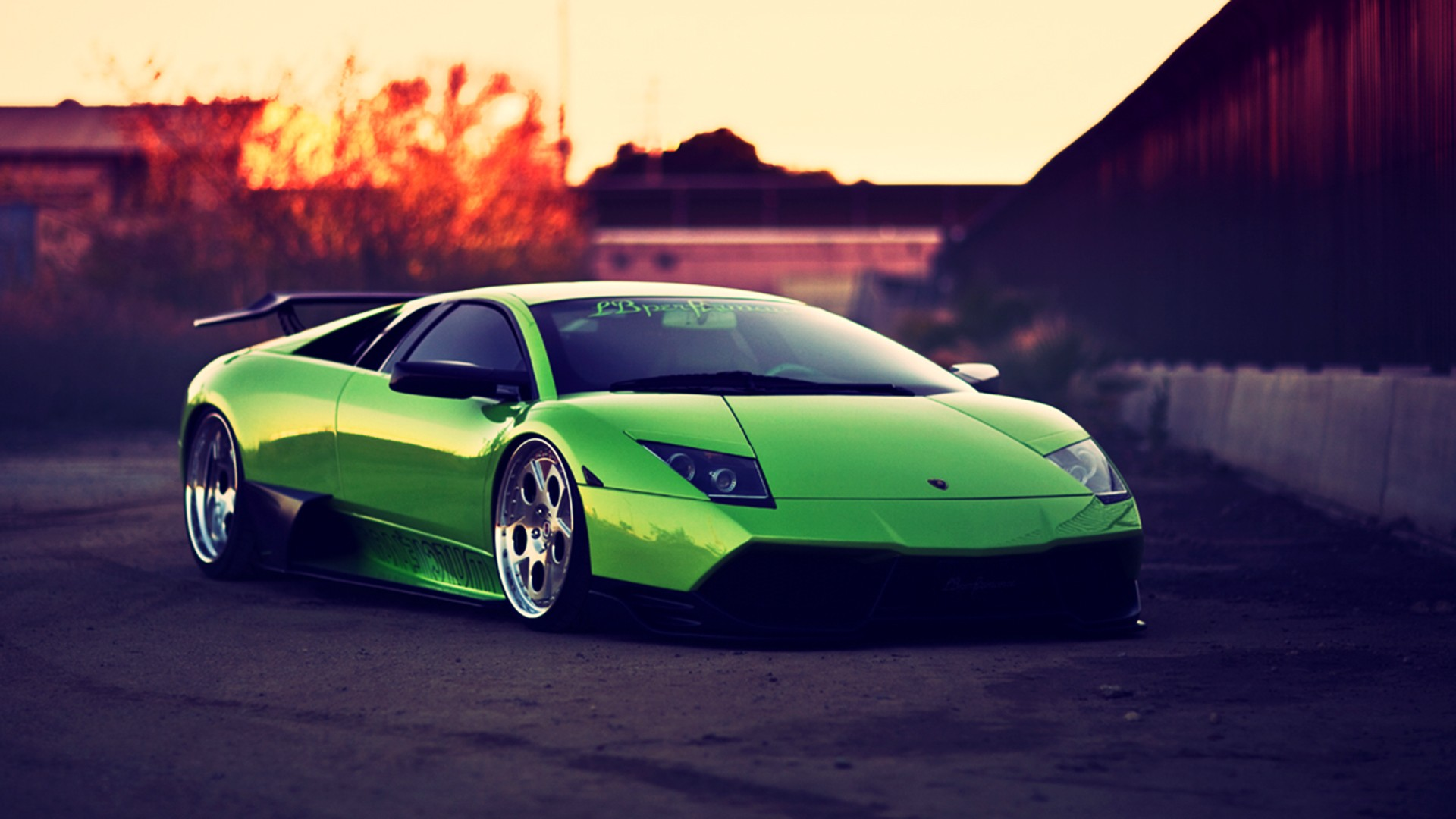 Wallpapers Green And Lamborghini On Pinterest: Green And Black Lamborghini Wallpaper 4 Free Hd Wallpaper