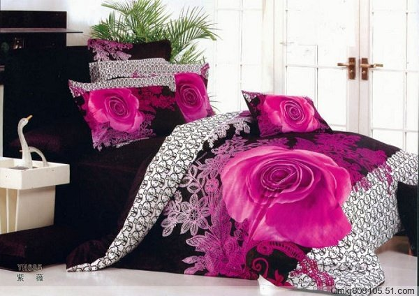 Pink and black bedrooms 1 cool wallpaper for Black and pink wallpaper for bedroom