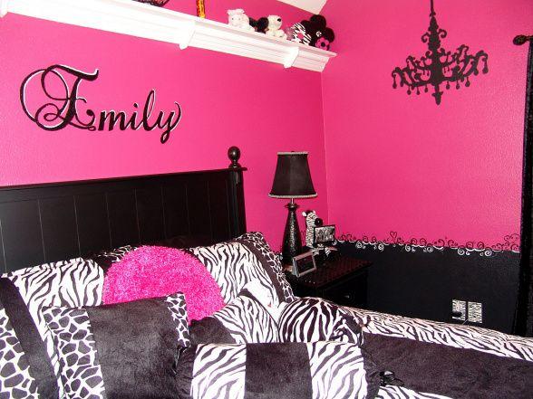 Pink And Black Bedrooms 23 Wide Wallpaper