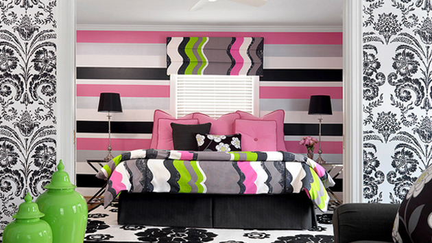 Pink And Black Bedrooms 23 Wide Wallpaper