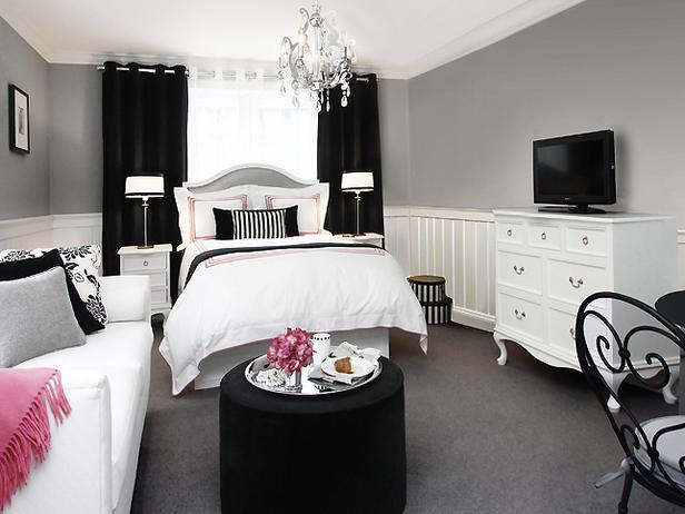 Pink And Black Bedrooms  27 Background