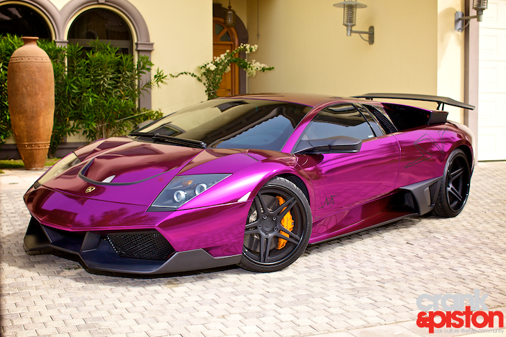 Pink And Black Exotic Cars 11 Background Wallpaper
