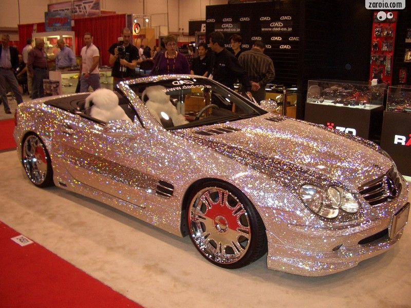 Pink And Black Exotic Cars 6 High Resolution Wallpaper
