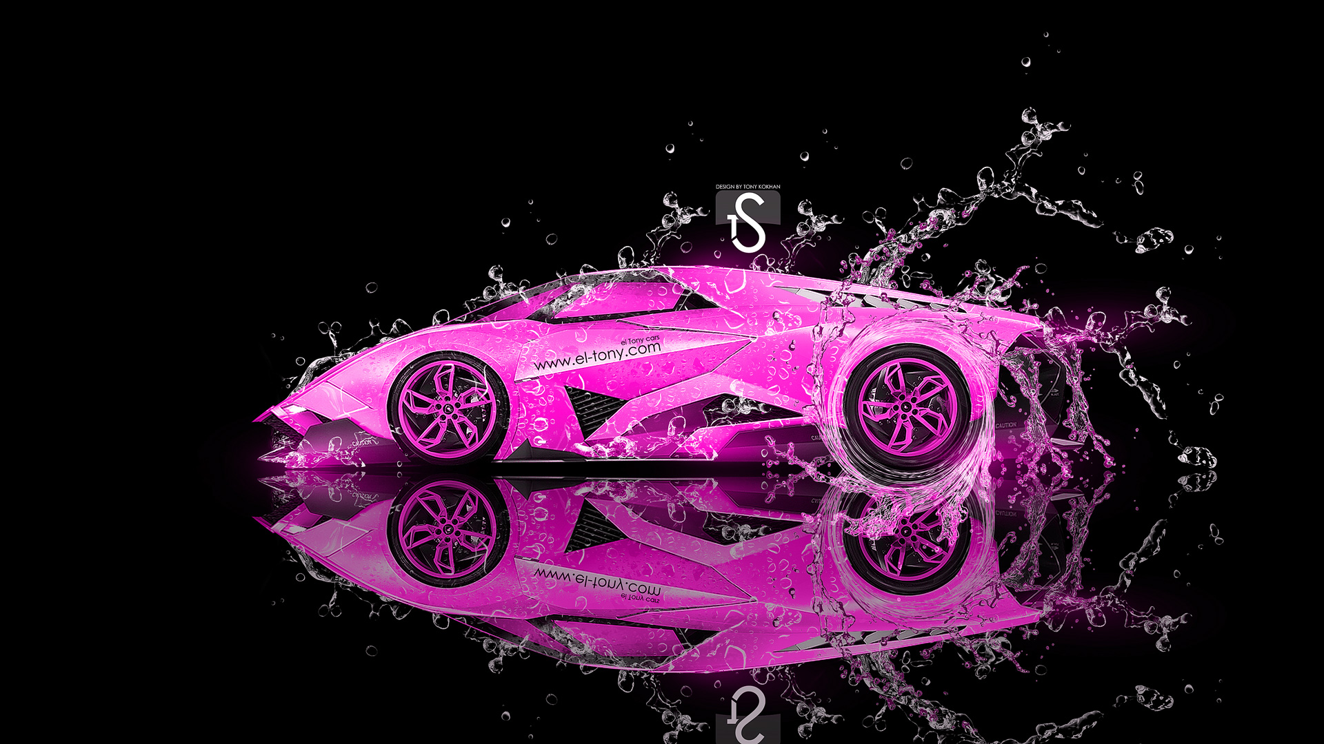 Pink And Black Lamborghini Wallpaper 31 Desktop Background ...