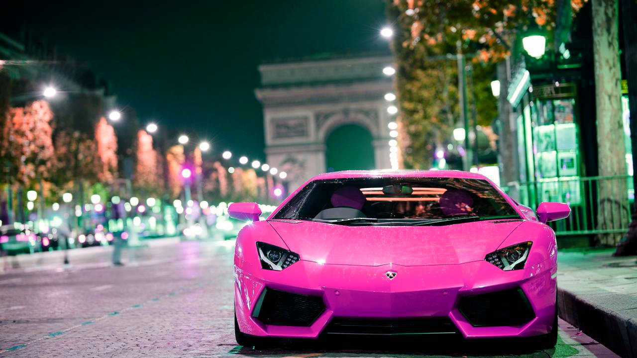Pink And Black Lamborghini Wallpaper 2 Desktop Background ...