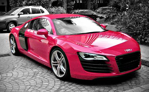 Pink And Black Sports Cars 18 Desktop Wallpaper