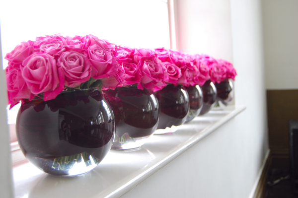 Pink And Black Wedding Theme 16 Wide Wallpaper