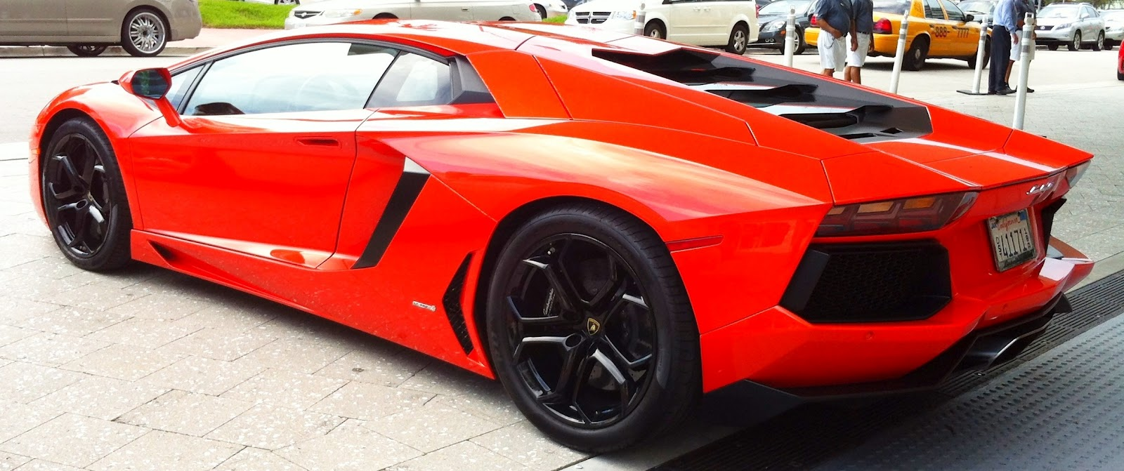Orange And Black Lamborghini Aventador | www.imgkid.com ...