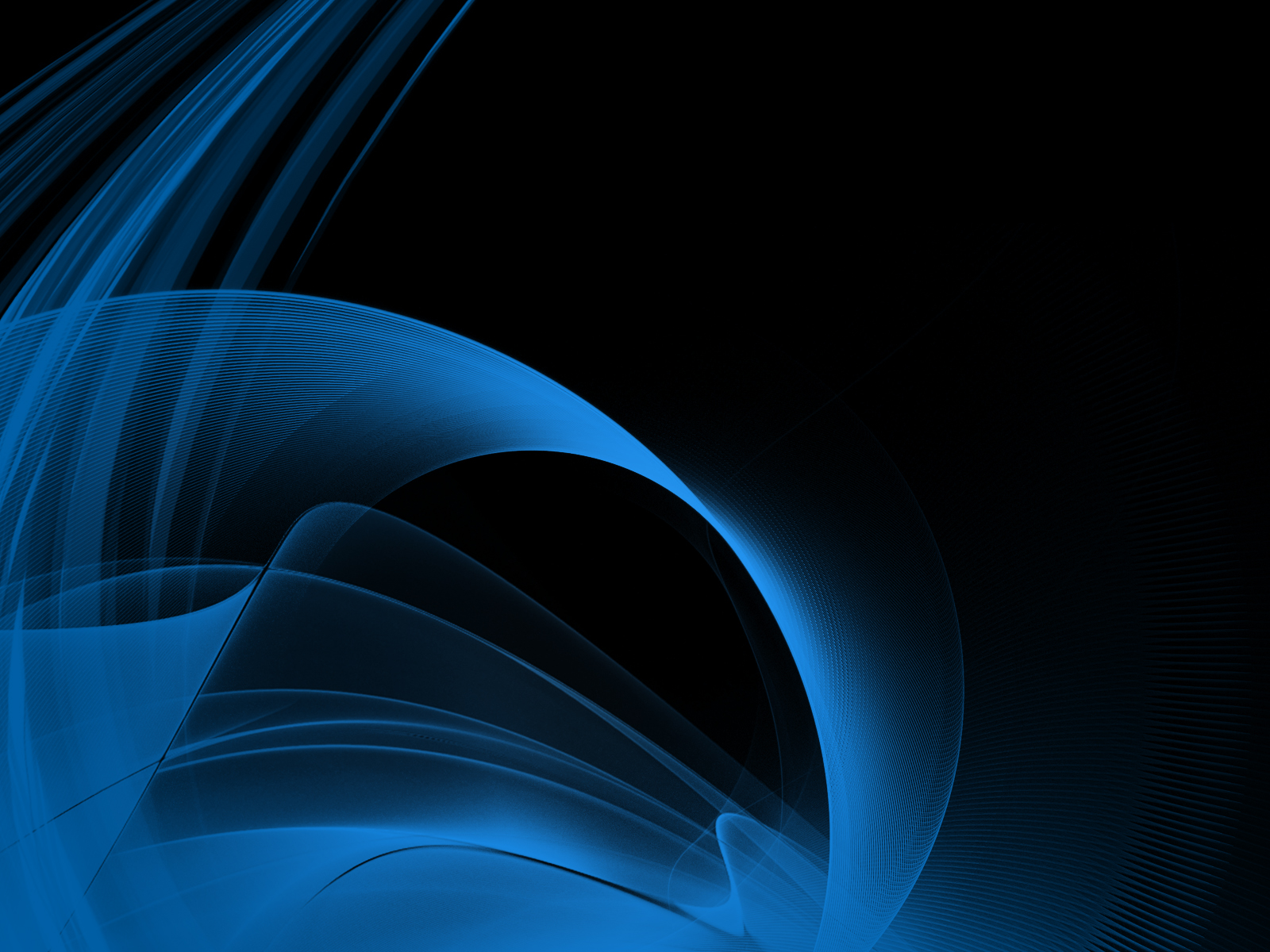 Hd Wallpaper 1920x1080 Black Blue: Black And Blue Abstract Wallpaper 16 Wide Wallpaper