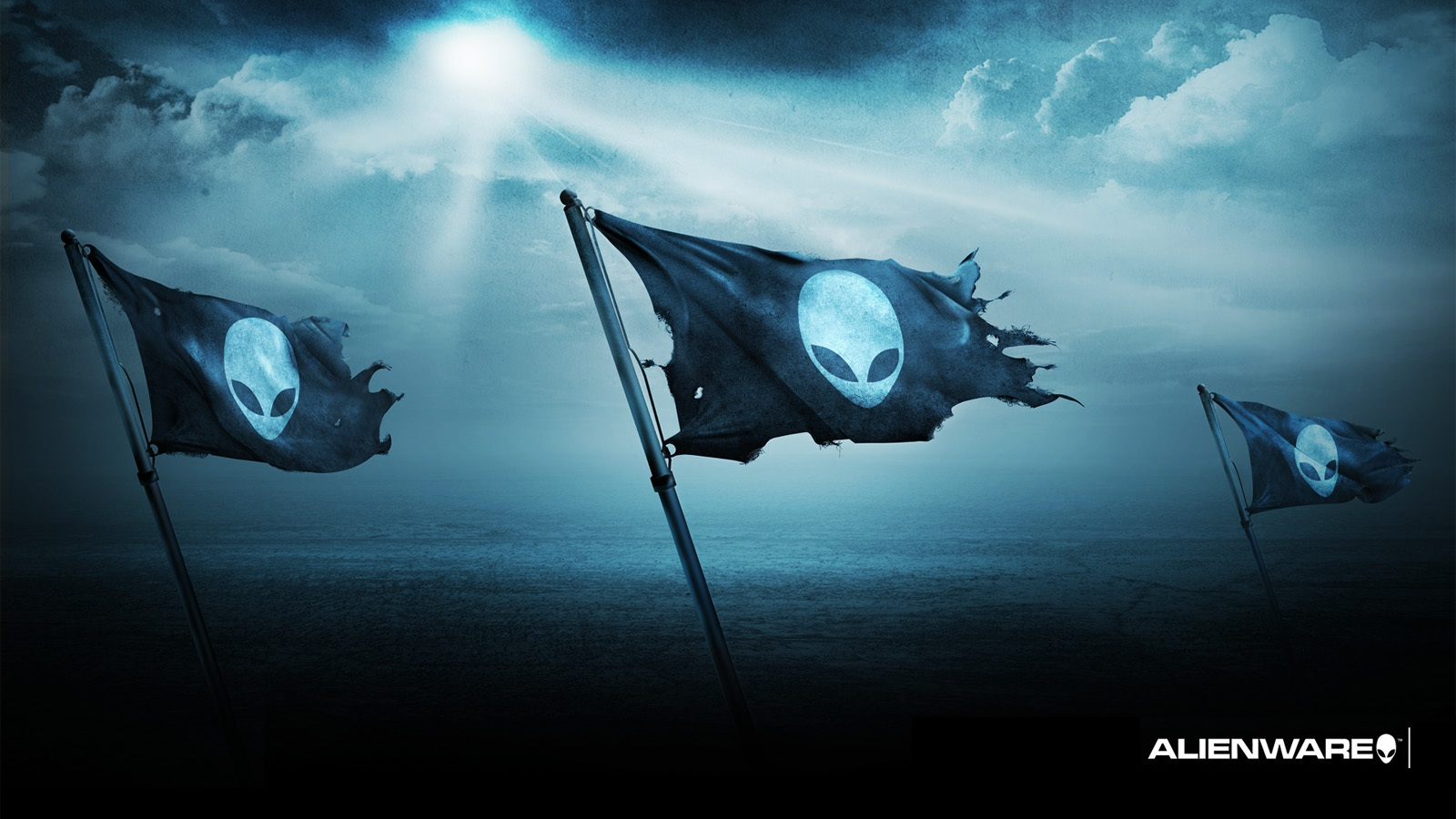 black and blue alienware wallpaper 25 background - hdblackwallpaper