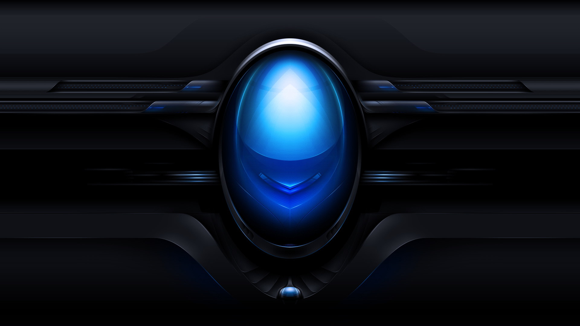 Black And Blue Alienware Wallpaper 37 Desktop Wallpaper